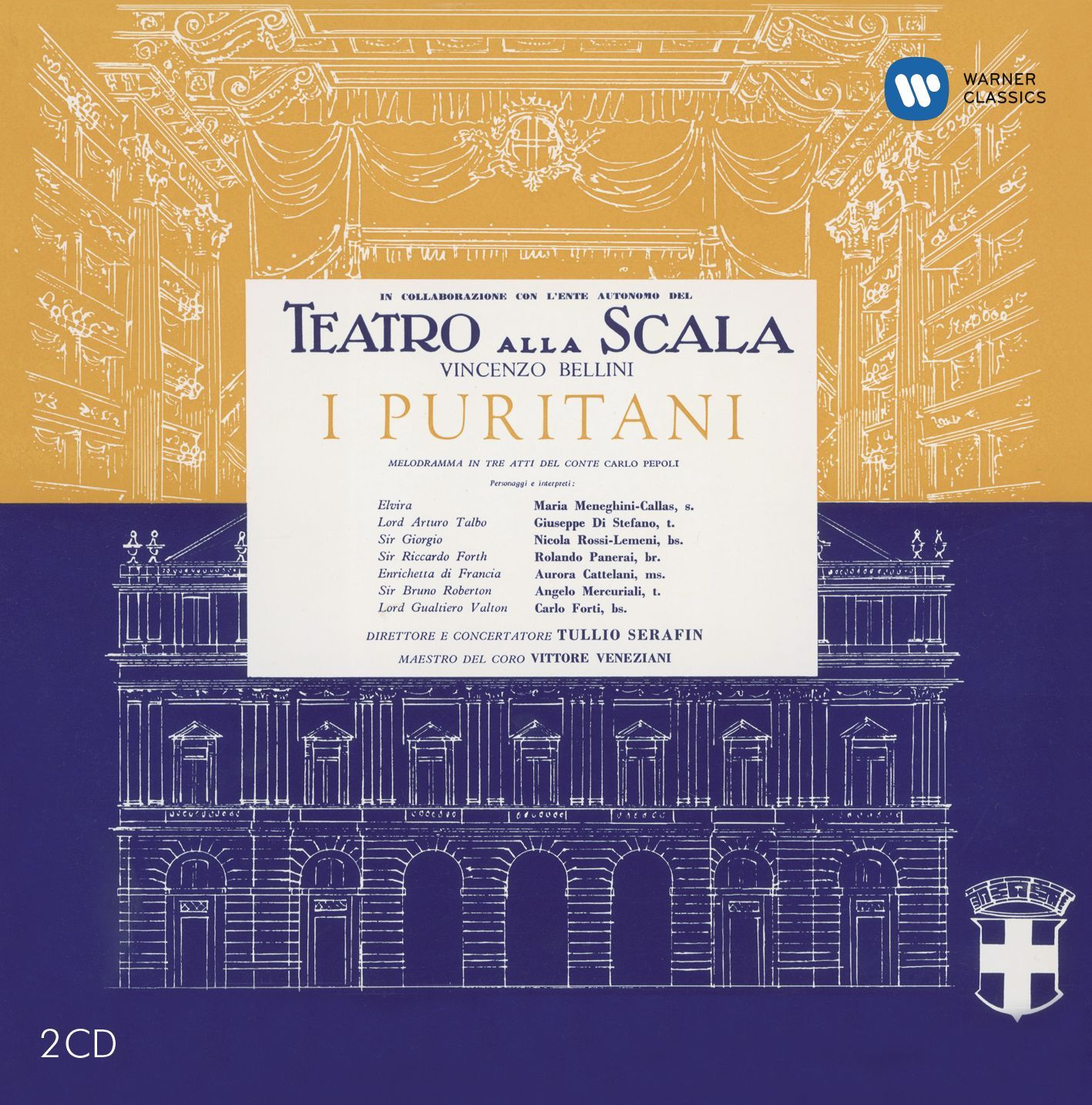 Maria Callas - Bellini: I Puritani
