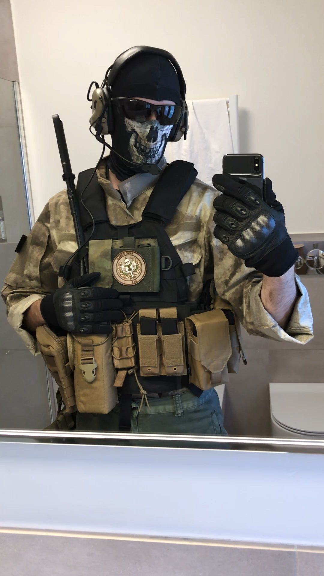Self Ghost Mw2 Iconic Characters Call Of Duty Cosplay