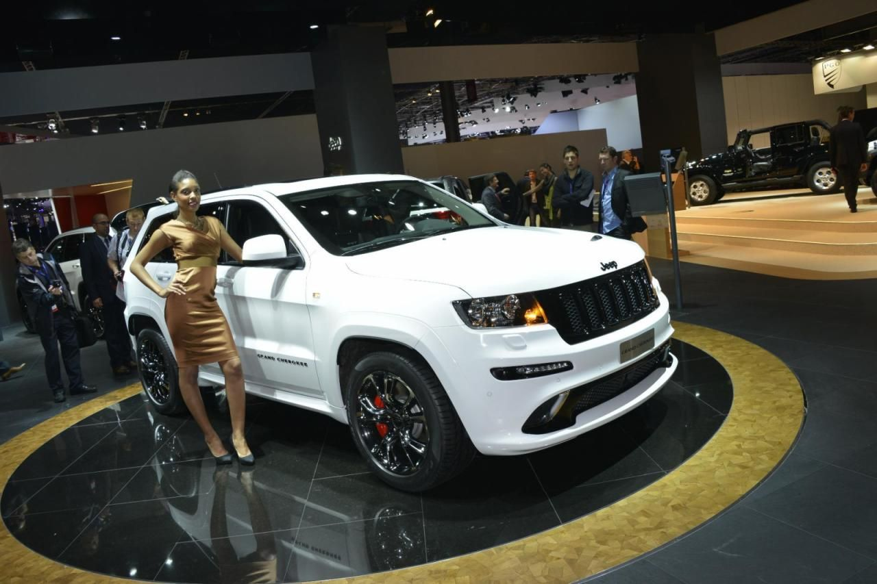 Jeep grand cherokee srt8 fit for the track the streets are