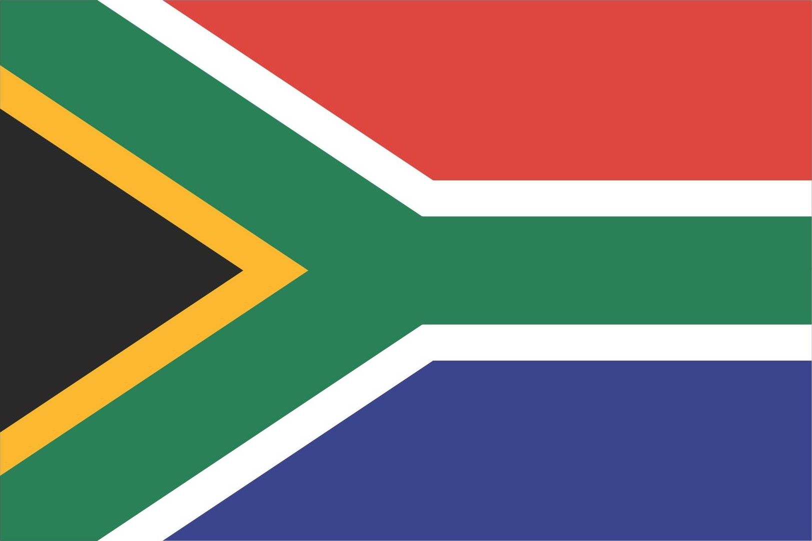South Africa Flag And Emblem South African