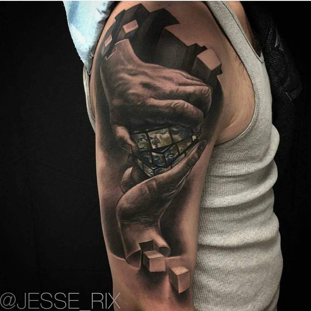 4 909 Vind Ik Leuks 9 Reacties Tattoo Realistic