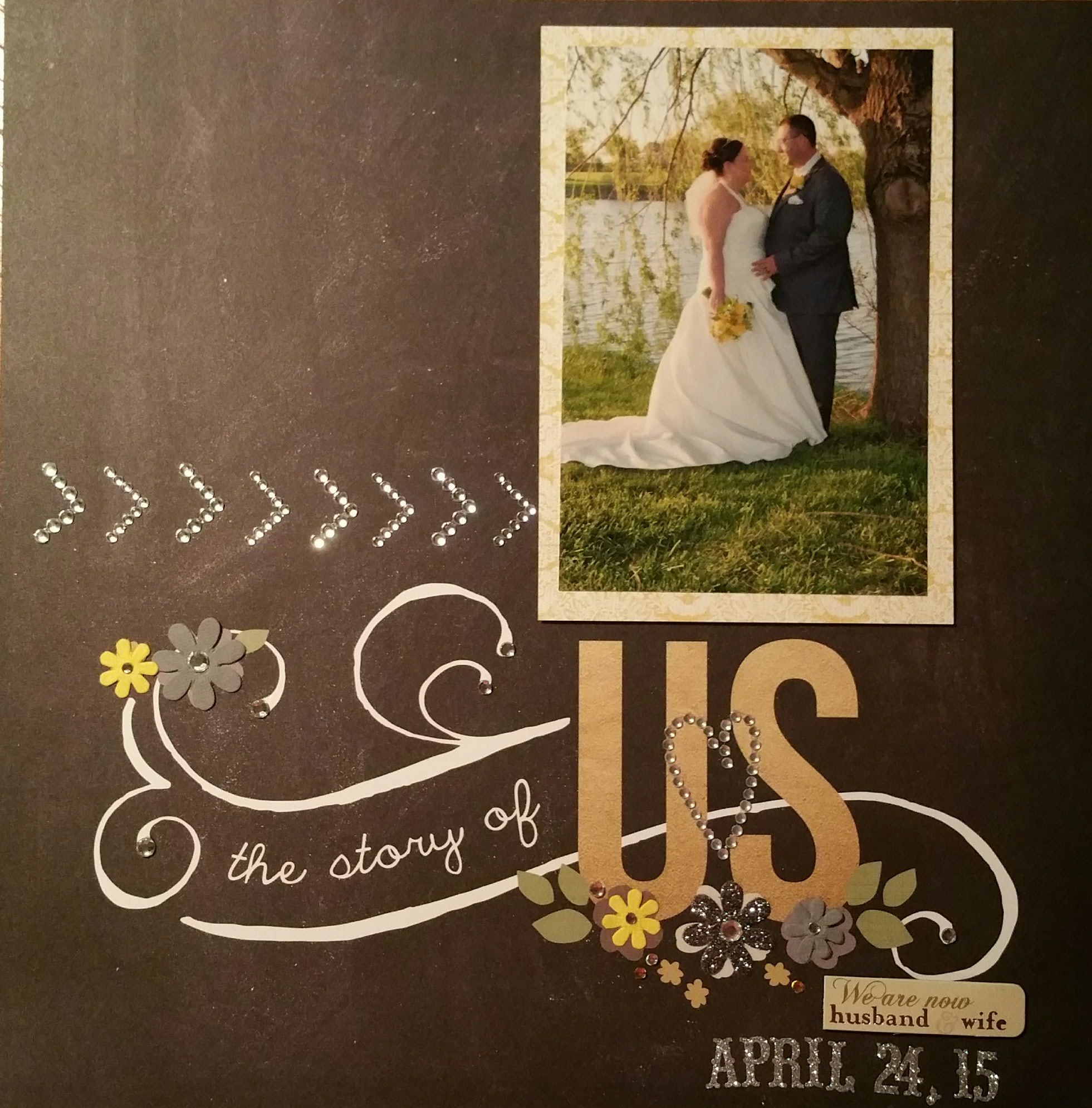 The Story of Us  Scrapbookcom  The Story of Us