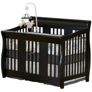 Delta Soho 5in1 Crib Black We have this crib for our little one