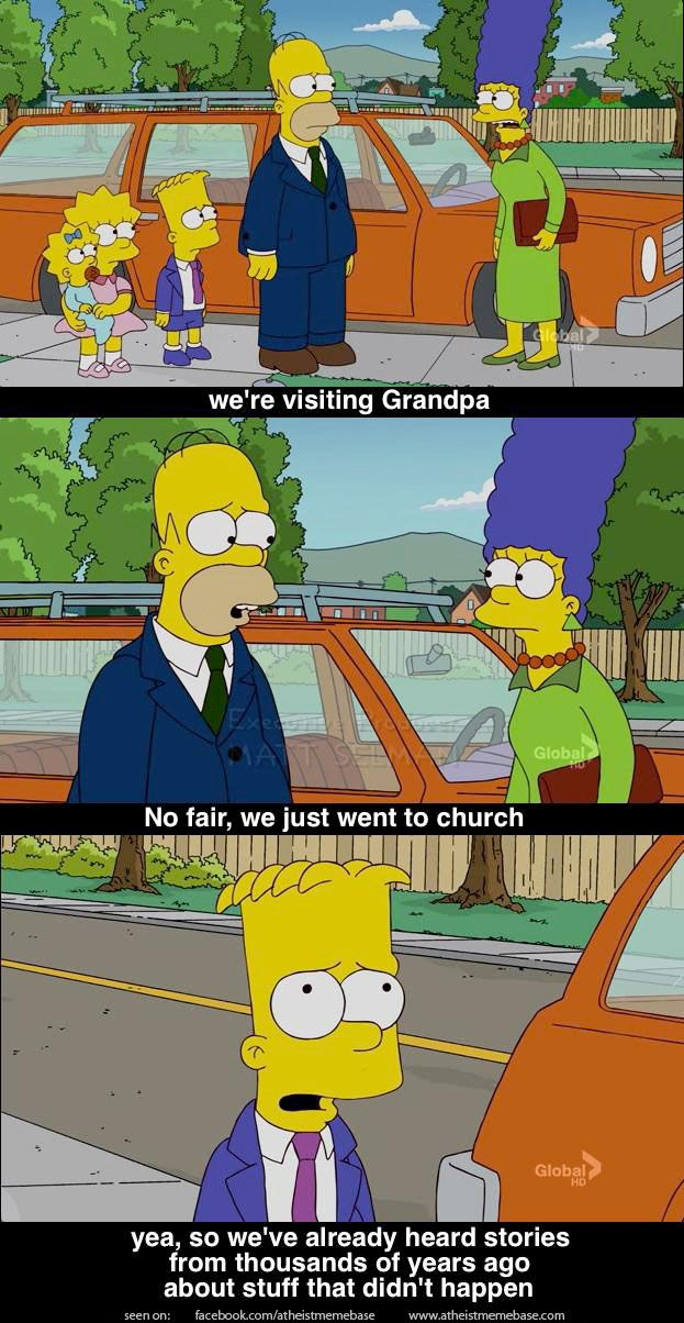 The Simpsons understand