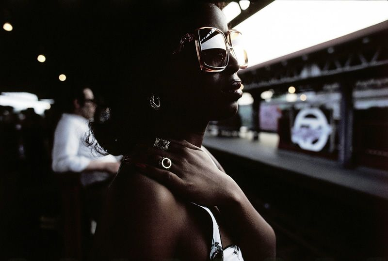 Color Photographs From The Masters Of Photography    Photo By: Bruce Davidson