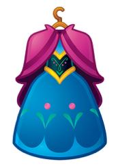 Anna S Dress As An Emoji Drawing By Disney Frozen Emoji Drawing Disney Emoji Disney Emoji Blitz