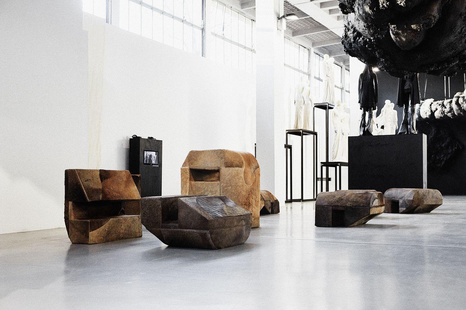 Inside The Artistic Mind Of Rick Owens Rick Owens Furniture Interior