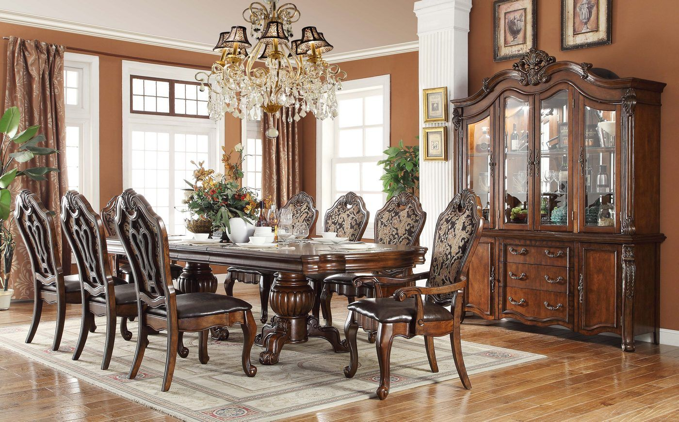 Ont Traditional Style Formal Dining Room Furniture Set