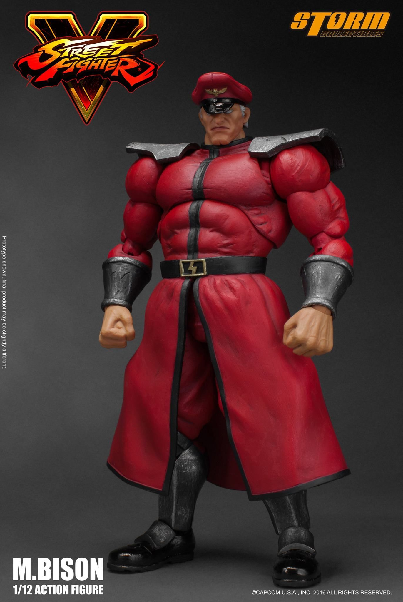 STORM COLLECTIBLES STREET FIGHTER V ALEX ACTION FIGURE 1//12 Preorder