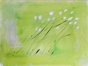 wildflowers in the wind....maybe a primary project?