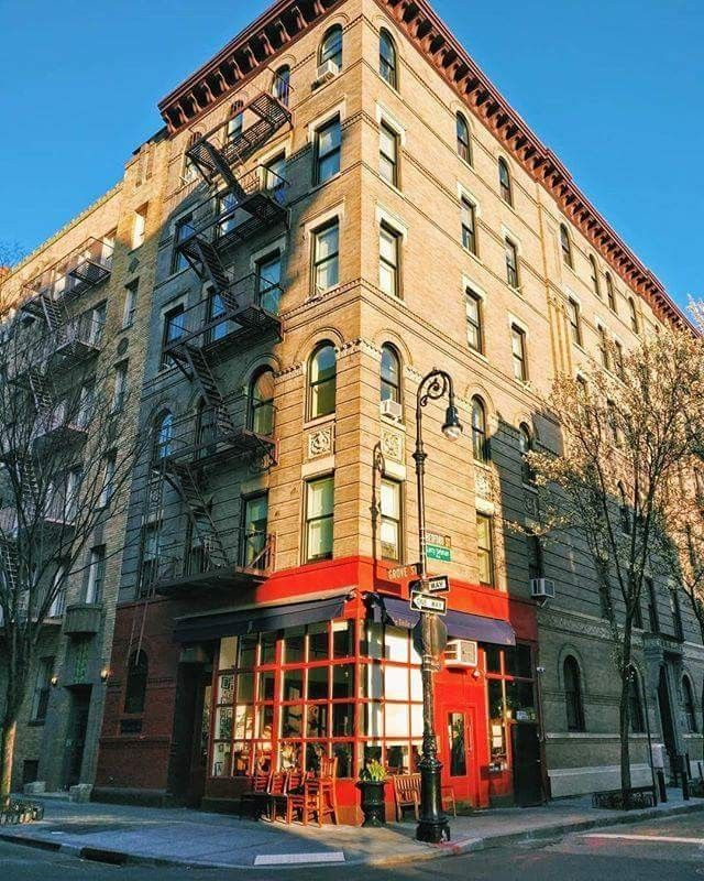 New York City Apartment Streets: The Friends Apartment Building Is On The Corner Of The