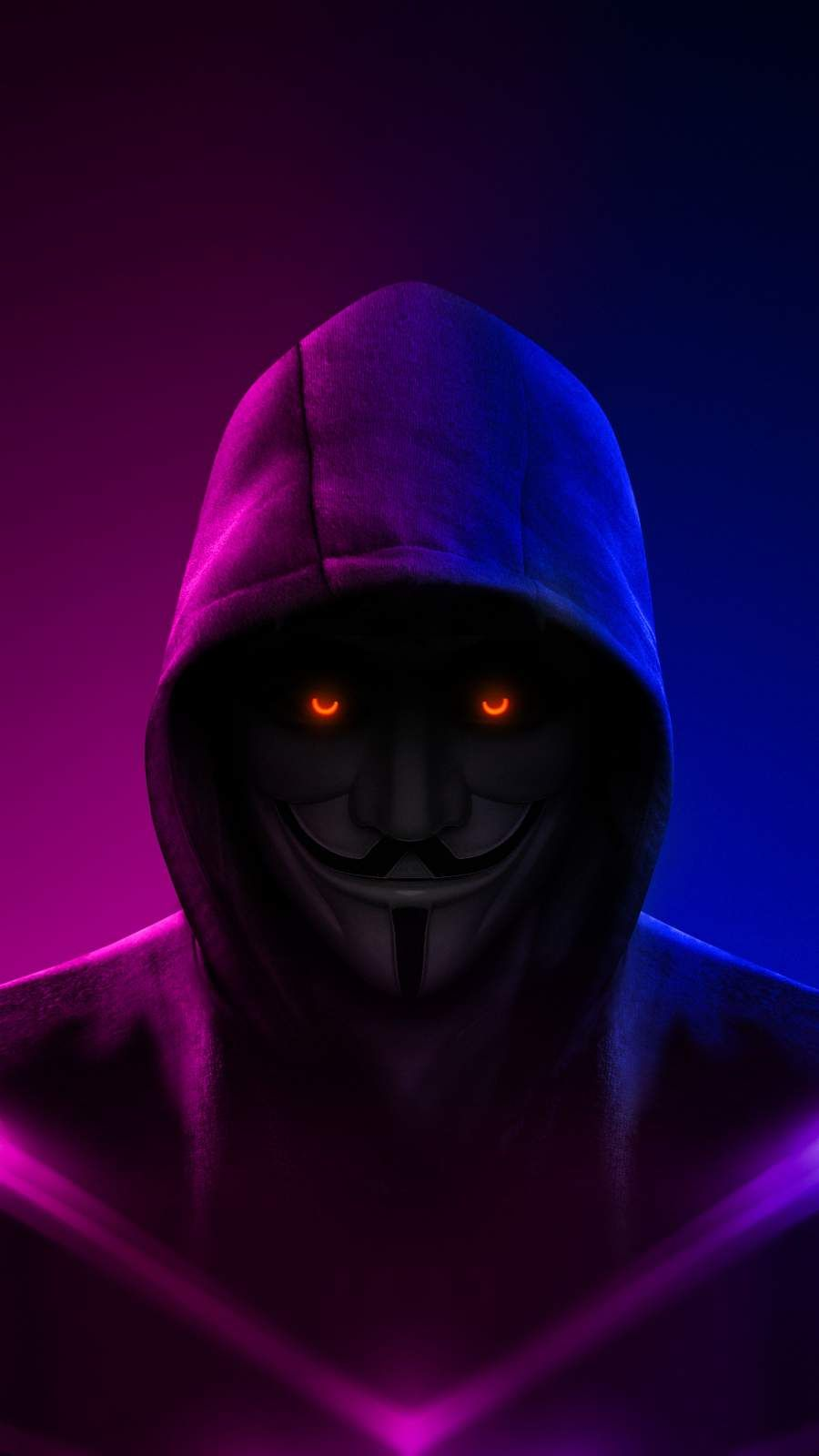 Hoodie Anonymous iPhone Wallpaper - iPhone Wallpapers