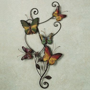 Dancing Butterflies Metal Wall Art With Images Metal Butterfly
