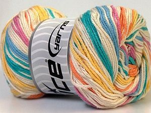 Tropical Color is a Bamboo & Cotton blend in a 2 or Sport weight. Soft, light yet durable, this yarn comes in 9 stunning color blends that scream of the tropics! Now just $3.73 per skein!