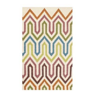 Jiti Geometric Multi Outdoor Area Rug