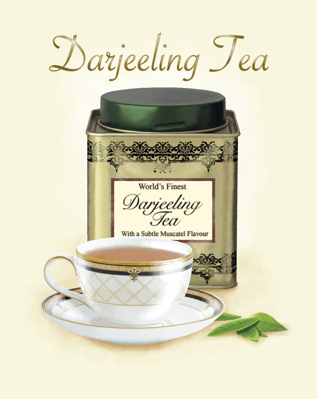 Couchtisch Serviettentechnik Darjeeling Tea By Roy And Jane Evans Tea Lovers Pinterest