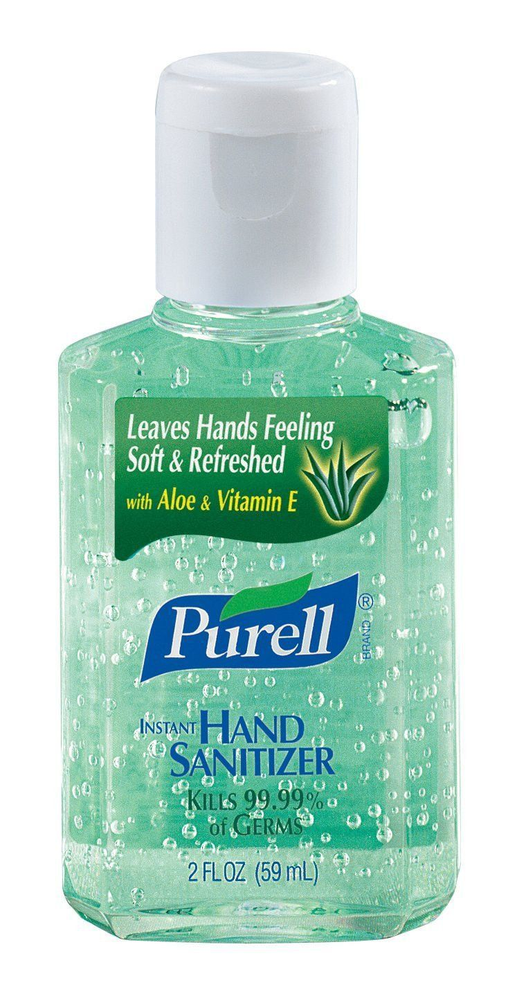 24 Pack Gojo 9682 Purell Instant Hand Sanitizer 2oz Bottle Hand