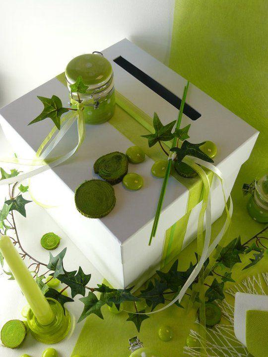 pingl par breizh anne sur le vert c 39 est frais pinterest urne mariages et urne anniversaire. Black Bedroom Furniture Sets. Home Design Ideas