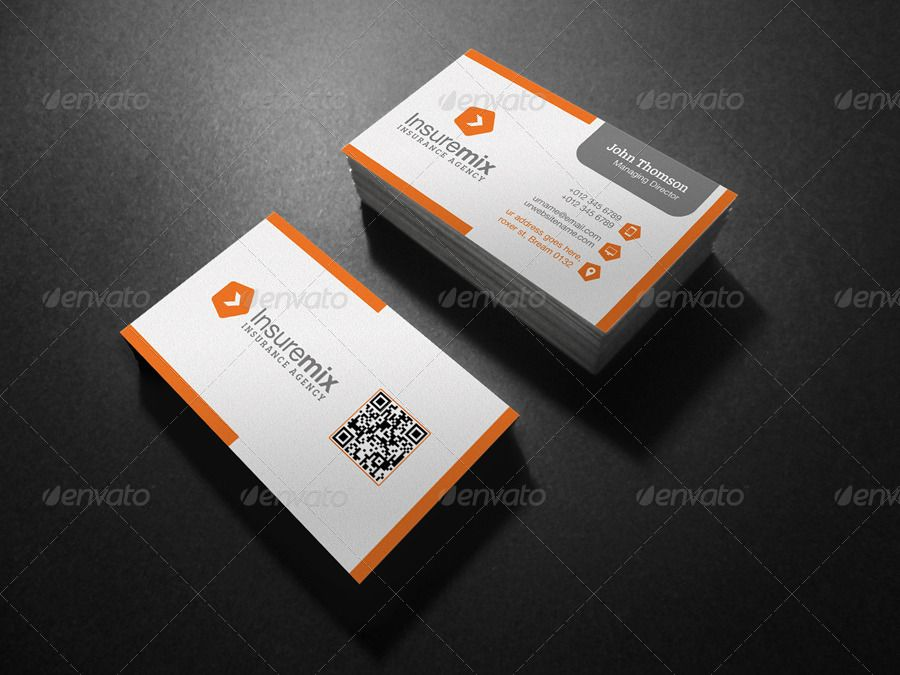 Insurance Business Card Insurance Spon Business Card