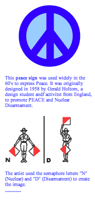 origin of the peace sign what it means