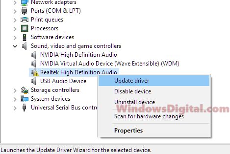 Realtek HD Audio Driver Manager Download For Windows 10 64