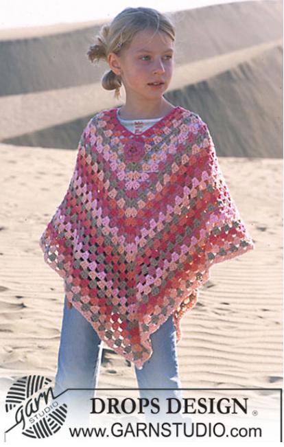 Poncho Haken Breien Kind Volwassenen Crochet Pinterest Crochet