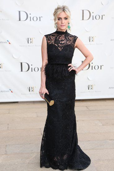 Ashlee Simpson in Alice + Olivia at the American Ballet Theatre's Opening Night Gala in New York.