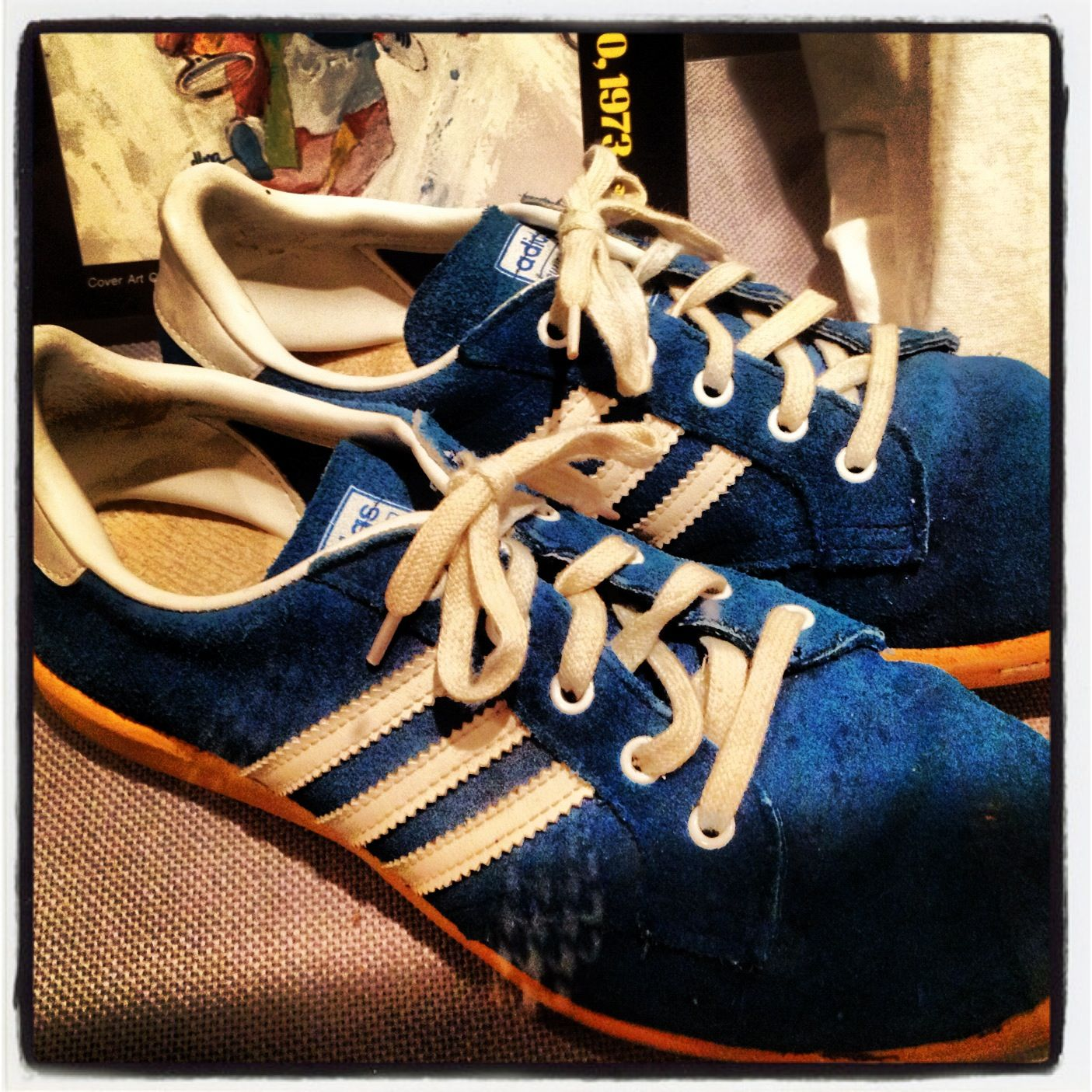 International Tennis Hall of Fame Treasures: Billie Jean King's adidas shoes  from 1973 Battle of
