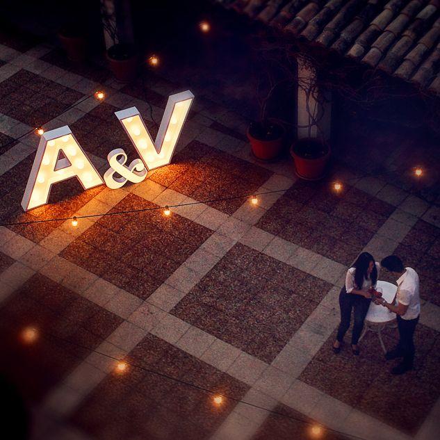 Alquiler de letras para bodas, letras de 120 cm de altura ...