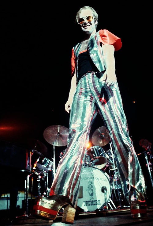 Elton John 1970s glam rock - pinned by RokStarroad.com ...