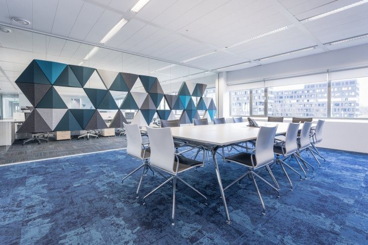 Image Result For Conference Room Modern Design Housing Authority - Blue conference table
