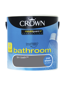 Crown Paints Bathroom paint, anti-mould technology to help ...