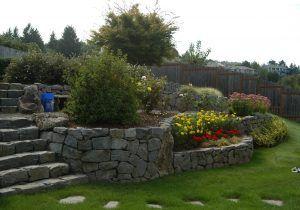 Deck Sloped Yard Google Search Backyard Ideas Pinterest Back throughout Sloping Garden Landscaping Ideas