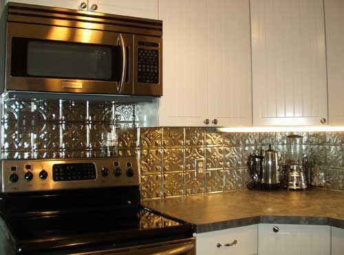 Americantinceilings For The Home Pinterest Pressed Metal Mesmerizing Tin Ceiling Tiles For Backsplash Exterior