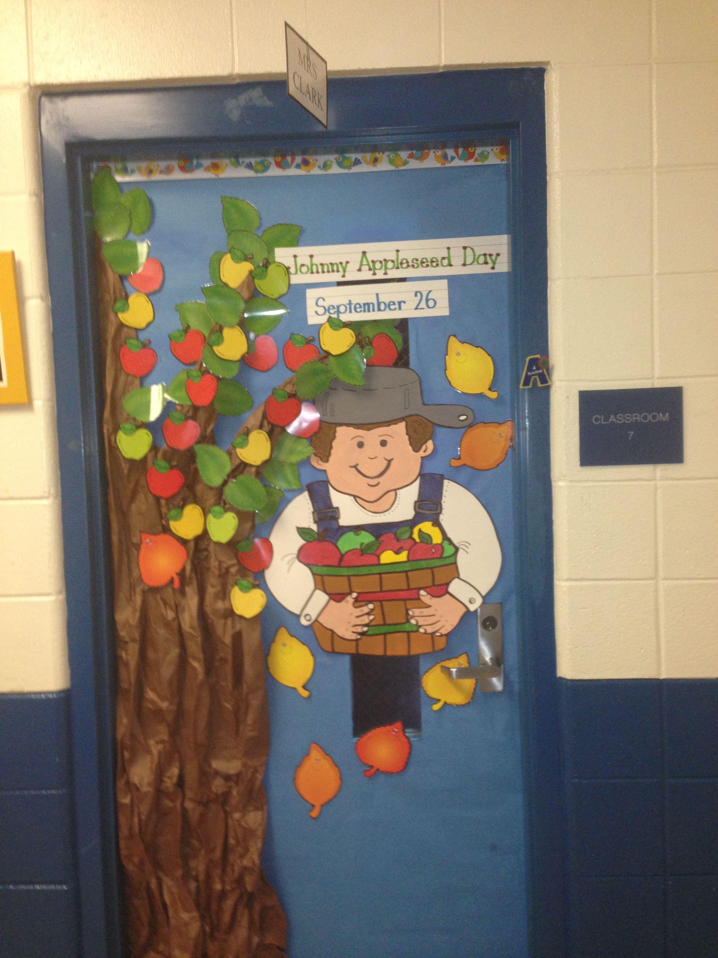 Johnny Appleseed Door