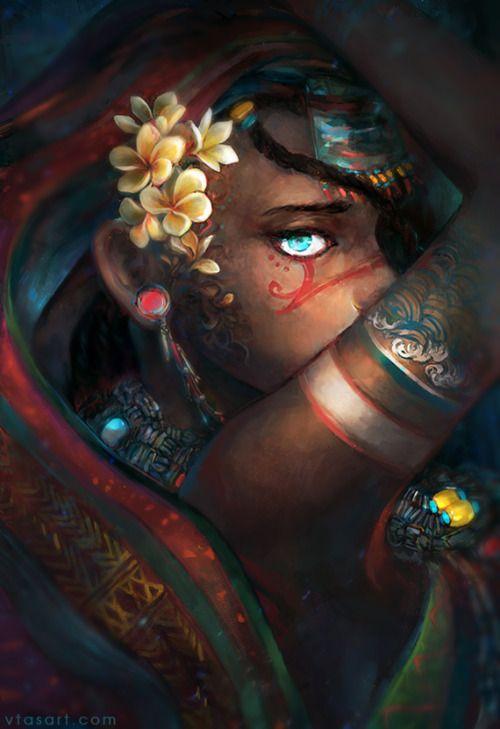 Moribayassa; my eyes filled with oceans—The Art of Aqualumina Kickstarter