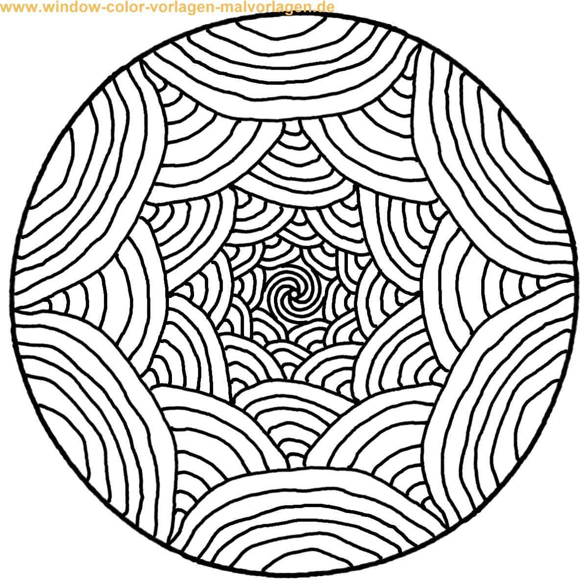 mandalas to print and color | Malvorlage | Ausmalbild | Mandala zum ...
