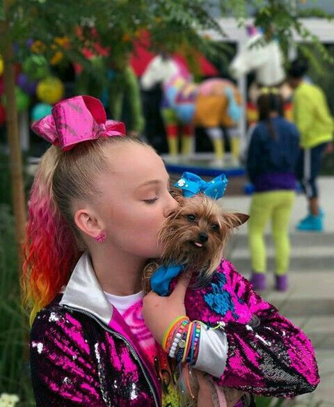 I Love Your Dog I Have A Dog That Looks Like That Jojo Siwa