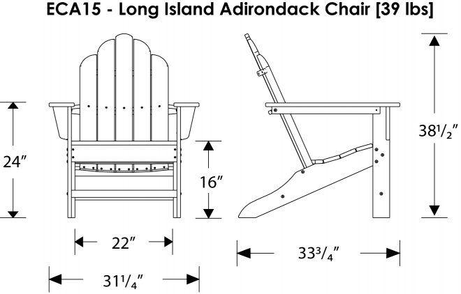 Adirondack Chair Drawing