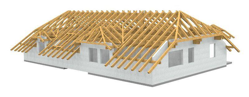 Werkplanung Eines Dachstuhl Fr Eine Wohnanlage CNC Abbund Cnc Maschine Rooftops Woodworking