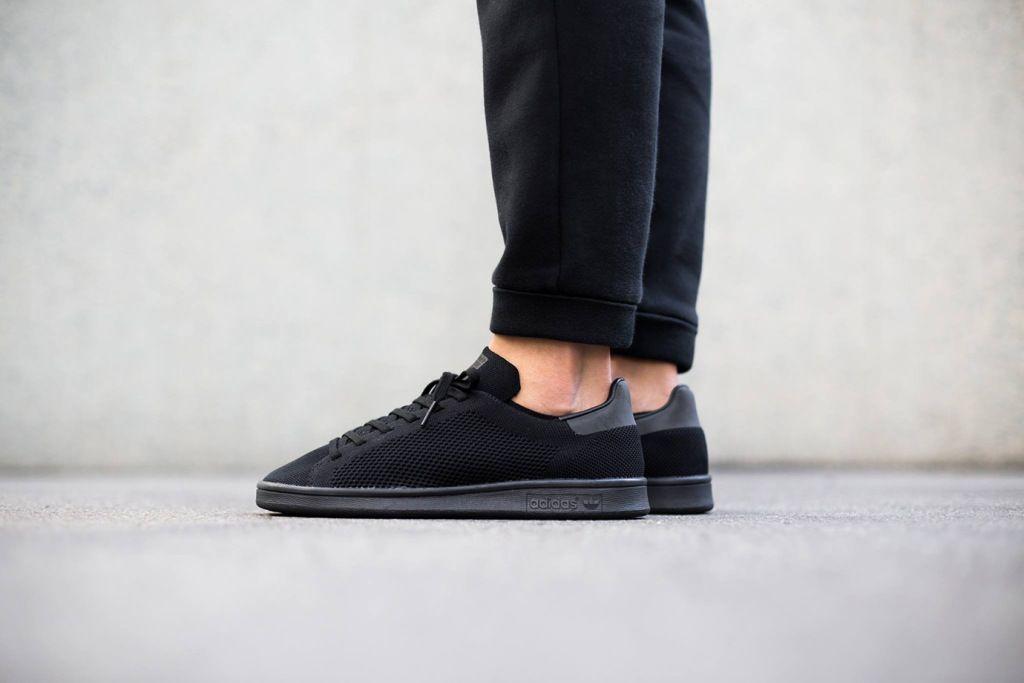 All Black For the adidas Originals Stan Smith Primeknit