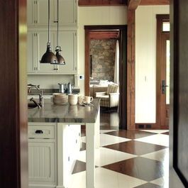 Painted Wood Floors Design Ideas, Pictures, Remodel, and Decor - page 6