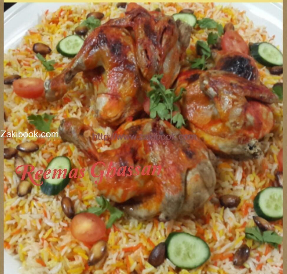 طريقة عمل مندي الدجاج شغل البيت بالصور زاكي Middle East Food Middle Eastern Recipes Food Receipes