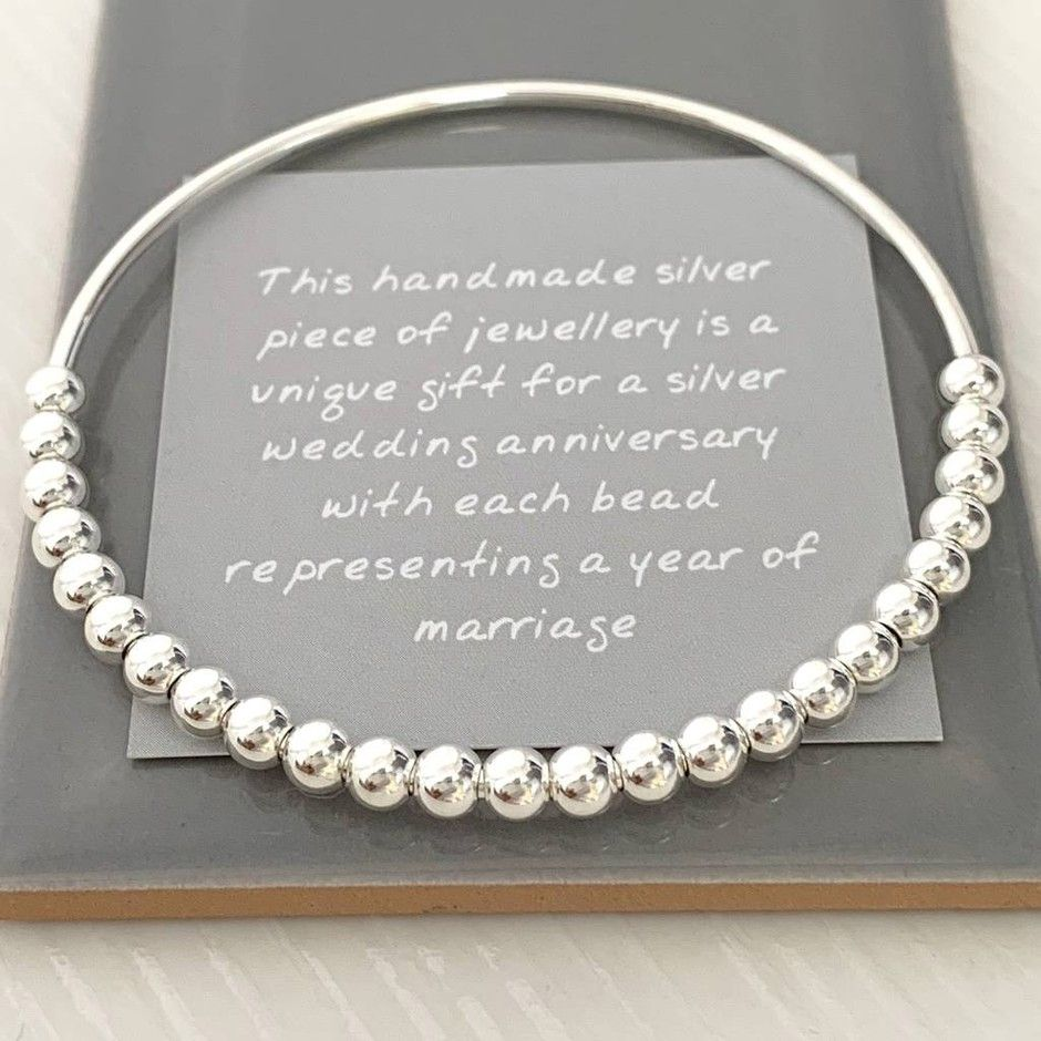 25th Wedding Anniversary Gift Ideas Perfect Presents For A Silver Wedding Anniversary Silver Wedding Anniversary Gift Silver Anniversary Gifts Silver Wedding Anniversary