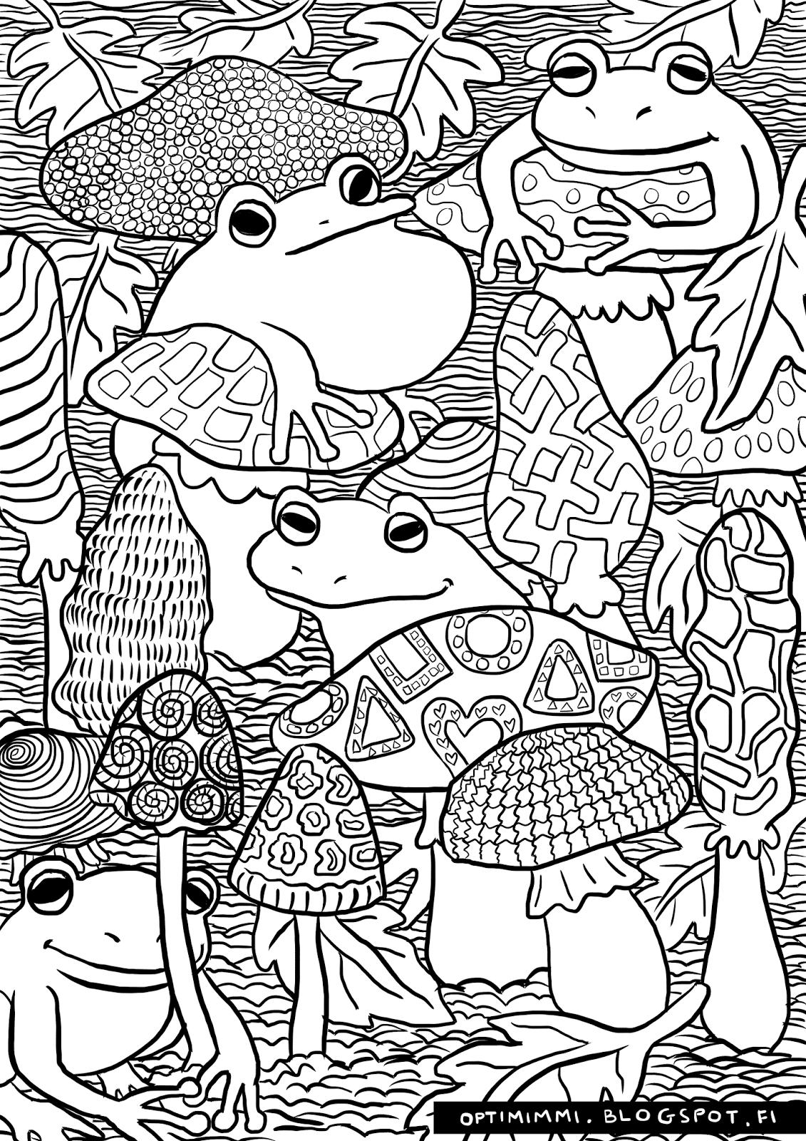 Coloring book varityskuvat - Kuvahaun Tulos Haulle Sienet V Rityskuvat