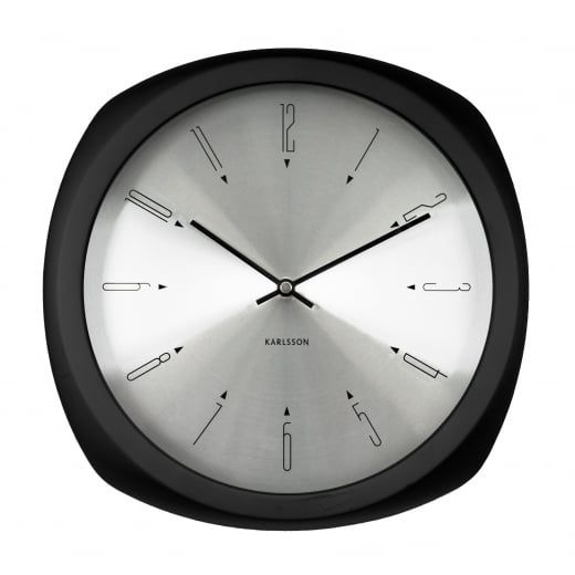 Karlsson Aesthetic Square Wall Clock Black In 2020