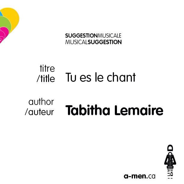 tabitha lemaire tu es le chant