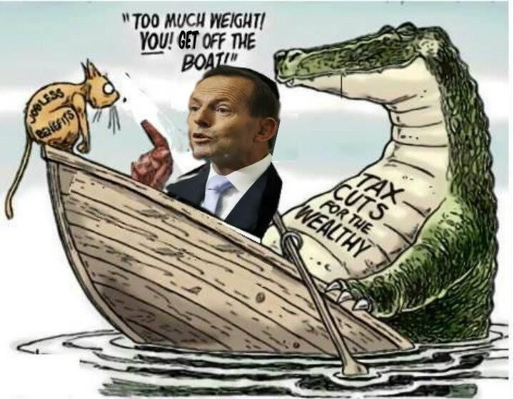 Abbott government budget will hurt the poor http://www.theage.com.au/federal-politics/-zrctq.html… …#Auspol #Budget2014 pic.twitter.com/jop9jnnAvz