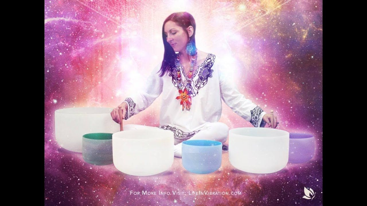 Holographic Sound Healing Session with Crystal Sound Bowls