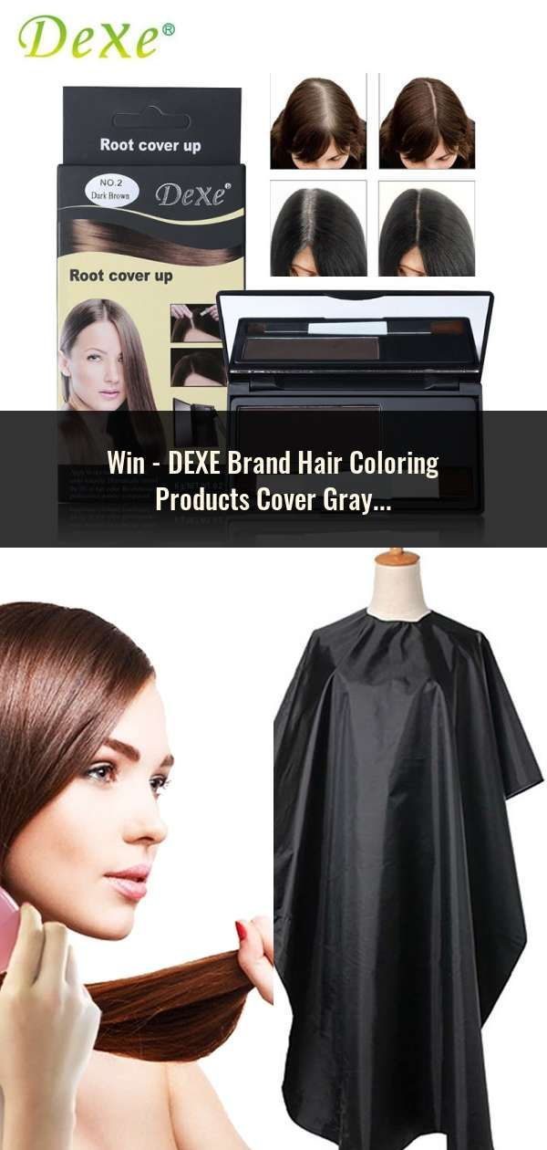 DEXE Brand Hair Coloring Products Cover Gray Root Cover Up ...